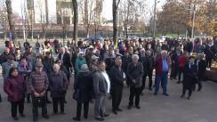 Miting de susținere a Guvernului condus de Prim-ministrul Maia Sandu