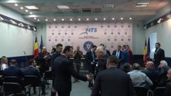 Participare la preluarea mandatului de Ministru al Tineretului și Sportului de către Marian Ionuț Stroe