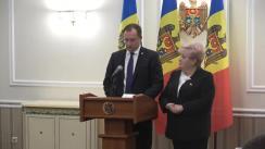 Declarația reprezentanților Partidului ȘOR după întrevederea cu Președintele Republicii Moldova, Igor Dodon