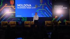 "Evenimentul ""Moldova Business Week 2019"". Panelul: Creative industries and cinemva & TV production"