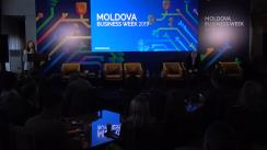 "Evenimentul ""Moldova Business Week 2019"". Panelul: INFORMATION & COMMUNICATIONS TECHNOLOGY, BPO & SSC"