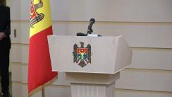 Declarațiile Prim-ministrului Republicii Moldova, Ion Chicu, după acordarea votului de învestitură