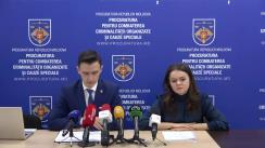 """Conferință de presă organizată de Centrul Internațional """"La Strada Moldova"""" și Procuratura pentru Combaterea Criminalității Organizate și Cauze Speciale cu tema """"Exploatarea sexuală online a copiilor în Republica Moldova"""""""