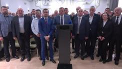 Conferință de presă după Consiliul Politic Național al Platformei Demnitate și Adevăr