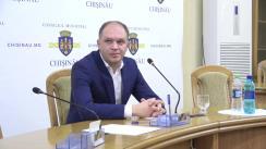 Declarații după ședința săptămânală a serviciilor primăriei Chișinău din 18 noiembrie 2019