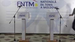 Conferință de presă organizată de Federația Națională de Tenis a Moldovei dedicată calificării echipei naționale a Republicii Moldova la prima ediție a Cupei ATP