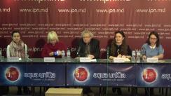 """Conferința de presă organizată de Institutul pentru Democrație cu tema """"Tortura mai este folosită în Moldova: exemple de tortură"""""""