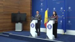 Briefing susținut de reprezentantul cu însărcinări speciale pentru procese electorale, Iulian Ivan, pe tema stadiului pregătirilor organizării celui de-al doilea tur al alegerilor prezidențiale în străinătate, organizat de Ministerul Afacerilor Externe
