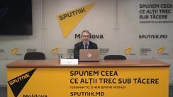 """Conferință de presă cu tema """"Prognoza dezvoltării economiei Moldovei și cursul valutelor la sfârșitul anului 2019 și în anul 2020"""""""
