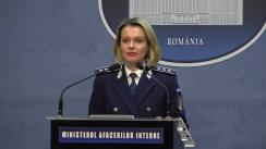 Declarații de presă ale reprezentanților Ministerul Afacerilor Interne privind desfășurarea alegerilor pentru Președintele României din 24 noiembrie 2019 (ora 8.00)