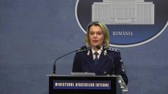 Declarații de presă ale reprezentanților Ministerul Afacerilor Interne privind desfășurarea alegerilor pentru Președintele României din 24 noiembrie 2019 (ora 11.30)