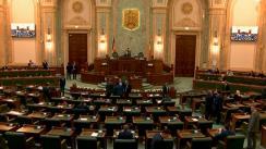 Ședința în plen a Senatului României din 26 noiembrie 2019