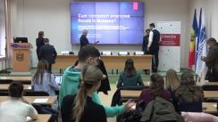 """Eveniment organizat de Centrul Analitic Independent """"Expert-Grup"""" de prezentarea a studiului """"Cum poate fi diminuată evaziunea fiscală în Republica Moldova?"""""""