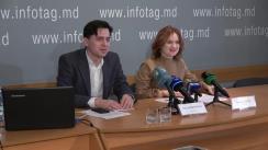 """Conferință de presă organizată de Centrul Analitic Independent """"Expert-Grup"""" cu tema """"Prezentarea hărții interactive a resurselor minerale ale Republicii Moldova"""""""
