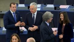 Ședința Parlamentului European din 27 noiembrie 2019. Alegerea noii Comisii Europene conduse de Ursula von der Leyen
