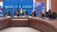 Conferință de presă cu ocazia celei de-a 33-a reuniune a Consiliului Consultativ (ABM) al Misiunii Uniunii Europene de Asistență la Frontieră în Moldova și Ucraina (EUBAM)