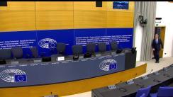 Conferință de presă susținută de liderul grupului Renew Europe din Parlamentul European, Dacian Cioloș
