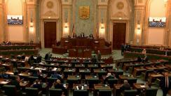 Ședința în plen a Senatului României din 2 decembrie 2019