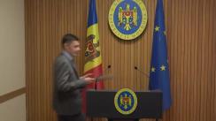 Declarațiile Ministrului Justiției, Fadei Nagacevschi, după ședința Guvernului Republicii Moldova din 27 noiembrie 2019