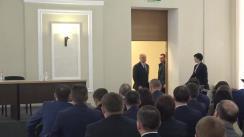 Prezentarea funcționarilor din cadrul Procuraturii Generale a Procurorului General, Alexandr Stoianoglo