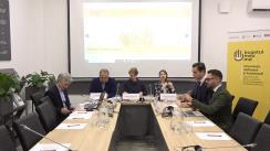 """Conferința de presă dedicată lansării proiectului """"Informează, abilitează și acționează! Societatea civilă pentru o mai bună guvernanță bugetară în Moldova"""""""