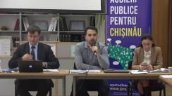 Audieri publice pentru Chișinău pe subiectul îmbunătății serviciilor de gestionare a deșeurilor solide în municipiul Chișinău
