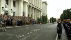 Ceremonia militară organizată cu prilejul învestirii în funcție a Șefului Statului Major al Apărării