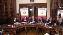 """Eveniment organizat de Uniunea Națională a Barourilor din România cu titlul """"Avocatura românească - pilon al justiției"""""""
