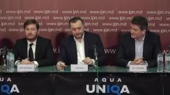 Conferință de presă susținută de Vlad Filat și echipa de avocați