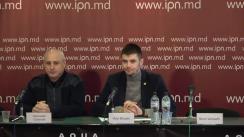 """Conferința de presă organizată de Asociația Unirea-ODIP cu tema """"Presa lui Dodon manipulează istoria și dezinformează populația"""""""