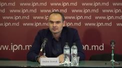 """Conferință de presă susținută de Andrei Donică, președintele Mișcării Profesioniștilor """"Speranța"""", primar al s. Condrița, mun. Chișinău"""