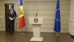 Declarațiile lui Alexandru Botnari în timpul ședinței Parlamentului Republicii Moldova din 5 decembrie 2019