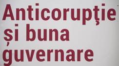 """Lecție publică organizată în cadrul cursului universitar """"Anticorupție și buna guvernare"""" cu invitata Irina Lonean, coordonatoare de proiecte Transparency International România și profesor asociat SNSPA, București"""