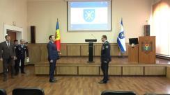 Ceremonia de absolvire a cursului de formare profesională a subofițerilor de poliție debutanți, realizat de Centrul de instruire pentru aplicarea legii al MAI