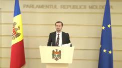 Declarațiile lui Dinu Plîngău în timpul ședinței Parlamentului Republicii Moldova din 6 decembrie 2019