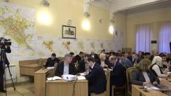 Ședința săptămânală a serviciilor primăriei Chișinău din 9 decembrie 2019