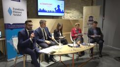 EU Debates Cafe organizat de Institutul pentru Politici și Reforme Europene dedicat analizei dezbaterilor curente privind Cadrului Financiar Multianual al UE pentru anii 2021 – 2027 și noul instrument bugetar pentru țările din vecinătatea UE