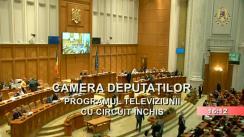 Ședința în plen a Camerei Deputaților României din 9 decembrie 2019