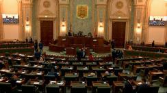 Ședința în plen a Senatului României din 9 decembrie 2019