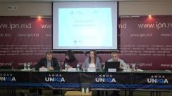 Conferința de presă organizată de Centrul Parteneriat pentru Dezvoltare cu ocazia prezentării raportului final de monitorizare a alegerilor locale generale 2019 din perspectiva egalității de gen