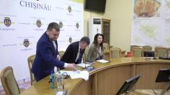 Conferință de presă susținută de fracțiunea PL din CMC după ședința săptămânală a serviciilor primăriei Chișinău din 9 decembrie 2019