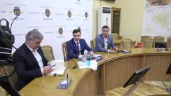 Declarații după ședința săptămânală a serviciilor primăriei Chișinău din 9 decembrie 2019