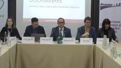 """Masa rotundă de prezentare a raportului """"Discursul de ură și instigarea la discriminare în spațiul public și mass-media din Republica Moldova, anul 2019: perioada de monitorizare 01.09.2019 – 30.11.2019"""""""