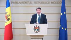 Briefing susținut de Șeful delegației naționale la AP EURONEST, Igor Munteanu, privind totalurile participării delegației Parlamentului Republicii Moldova la reuniunea a VIII-a a Adunării Parlamentare EURONEST de la Tbilisi, Georgia
