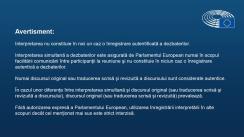 Ședința Parlamentului European din 11 decembrie 2019. Dezbaterea Pactului ecologic european