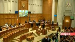 Ședința comună a Camerei Deputaților și Senatului României din 12 decembrie 2019. Angajarea răspunderii Guvernului asupra unor proiecte de legi