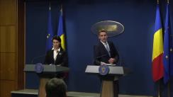 Conferință de presă după ședința Guvernului României din 13 decembrie 2019