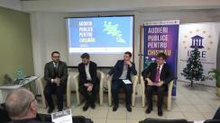 """Conferința de totalizare a proiectului """"Audieri Publice pentru Chișinău"""""""