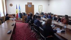 Ședința Curții de Conturi de examinare a Raportului asuprea rapoartelor financiare consolidate ale Comisiei Electorale Centrale încheiate la 31 decembrie 2018 și auditului gestionării mijloacelor financiare alocate pentru alegerile parlamentare din 24 februarie 2019