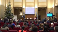 Conferința de presă organizată de Banca Națională a României pentru lansarea Raportului asupra stabilității financiare